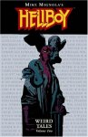 Book cover art for Hellboy: Weird Tales, Vol. 2