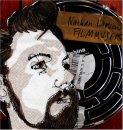 CD cover art for Nathan Larson's Filmmusik