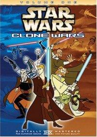 Star Wars: Clone Wars, Vol. 1 DVD cover art
