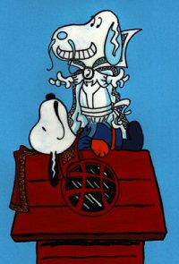 Snoopy as Dr. Strange
