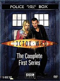 Doctor Who: The Complete First Series (2005) DVD cover art
