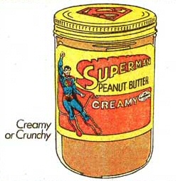 Superman Peanut Butter