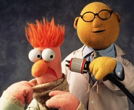Beaker and Bunsen Honeydew from The Muppets