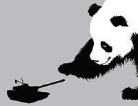 Pandamonium t-shirt from Threadless