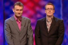 Hugh Dennis and Frankie Boyle from Mock the Week