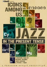 Icons Among Us: Jazz in the Present Tense DVD Cover Art