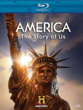 America: The Story of Us Blu-ray Cover Art