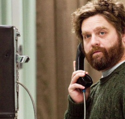 Zach Galifianakis from It's Kind of a Funny Story