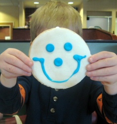 Cookie smile!