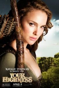 Natalie Portman Your Highness poster