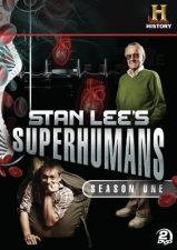 Stan Lee's Superhumans Season 1 DVD
