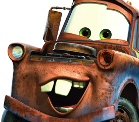 Mater from Cars 2