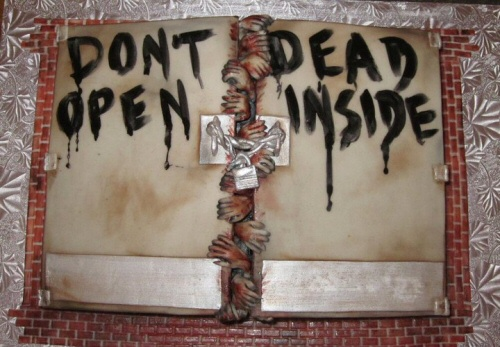 Walking Dead cake by Sweets to the Sweet