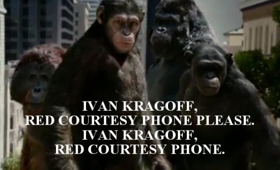 Ivan Kragoff, Red Courtesy Phone Please