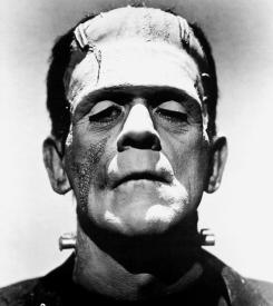 Boris Karloff as Frankenstein's Monster