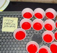 Caffeinated Jell-O shots