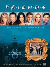 Friends: The Complete Eighth Season DVD