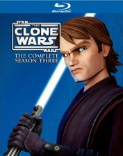 Star Wars: Clone Wars Complete Season 3 Blu-Ray