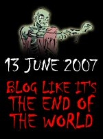 Z-Day: Blog Like It's the End of the World