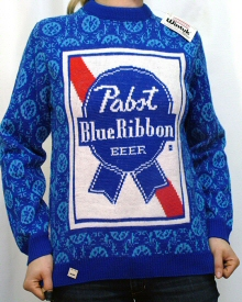 Pabst Blue Ribbon sweater