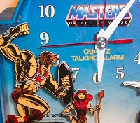 He-Man Masters of the Universe Clock