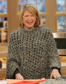 Martha Stewart Coming Home Poncho