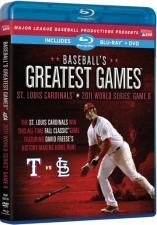 Baseballs Greatest Games: St. Louis Cardinals: 2011 World Series Game 6 Blu-Ray