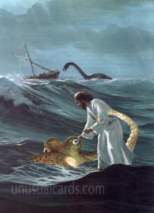 Jesus Saves the Sea Creatures