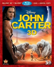 John Carter 3D Blu-Ray