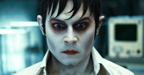 Johnny Depp as Barnabas Collins in Dark Shadows