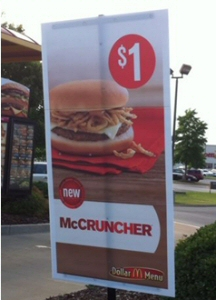 McCruncher sign