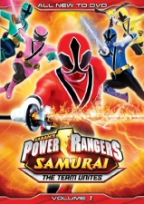 Power Rangers Samurai Vol. 1: Team Unites DVD