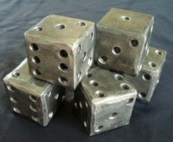 Blacksmith Forged Dice