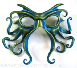 Cthulhu leather mask
