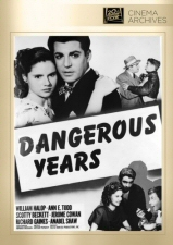 Dangerous Years (Fox Cinema Archives) DVD
