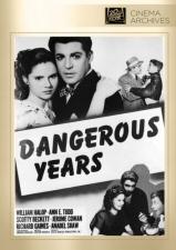 Dangerous Years (Fox Cinema Archives) DVD