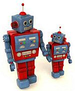 Fathers Day robots