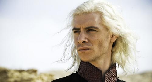 Harry Lloyd as Viserys Targaryen in Game of Thrones