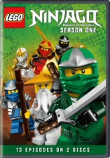 Lego Ninjago: Masters of Spinjitzu Season 1 DVD