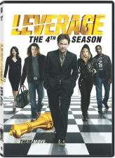 Leverage Season 4 DVD