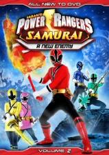 Power Rangers Samurai, Vol. 2: New Enemy DVD