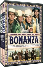 Bonanza Season 3 Value Pack DVD
