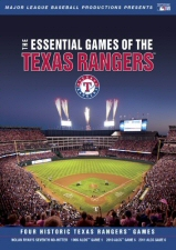 Essential Games of the Texas Rangers DVD