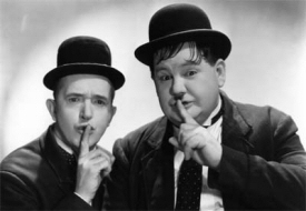 Laurel and Hardy: Shh