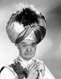 Stan Laurel in turban