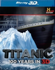 Titanic 100 Years in 3D Blu-Ray
