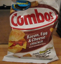 Bacon Egg and Cheese Cracker Combos