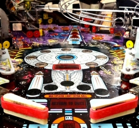 Star Trek: Next Generation pinball