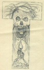 Topps Monster Initials card art