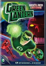 Green Lantern: The Animated Series: Rise of the Red Lanterns DVD
